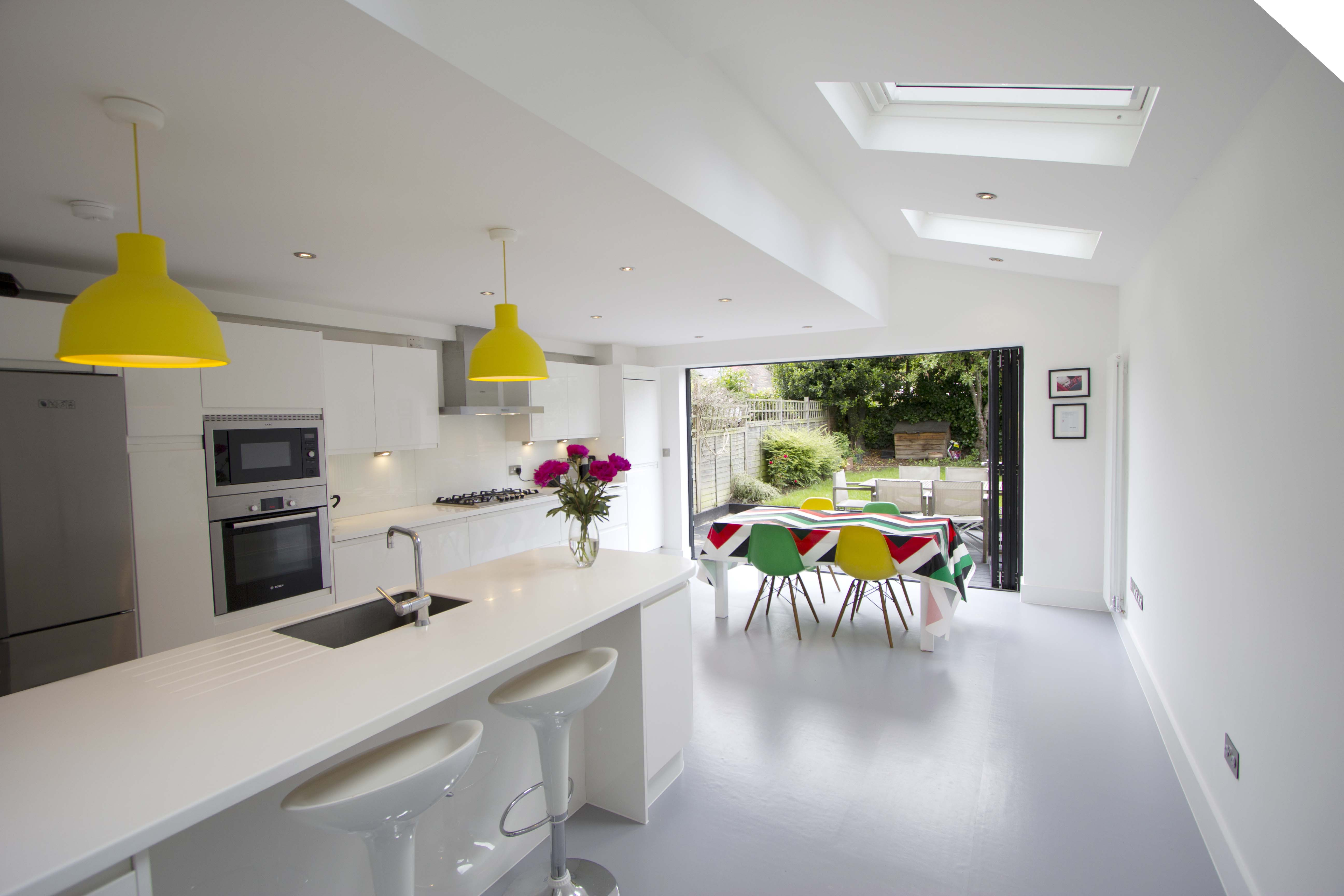 Wyleu street for Kitchens with dining areas designs