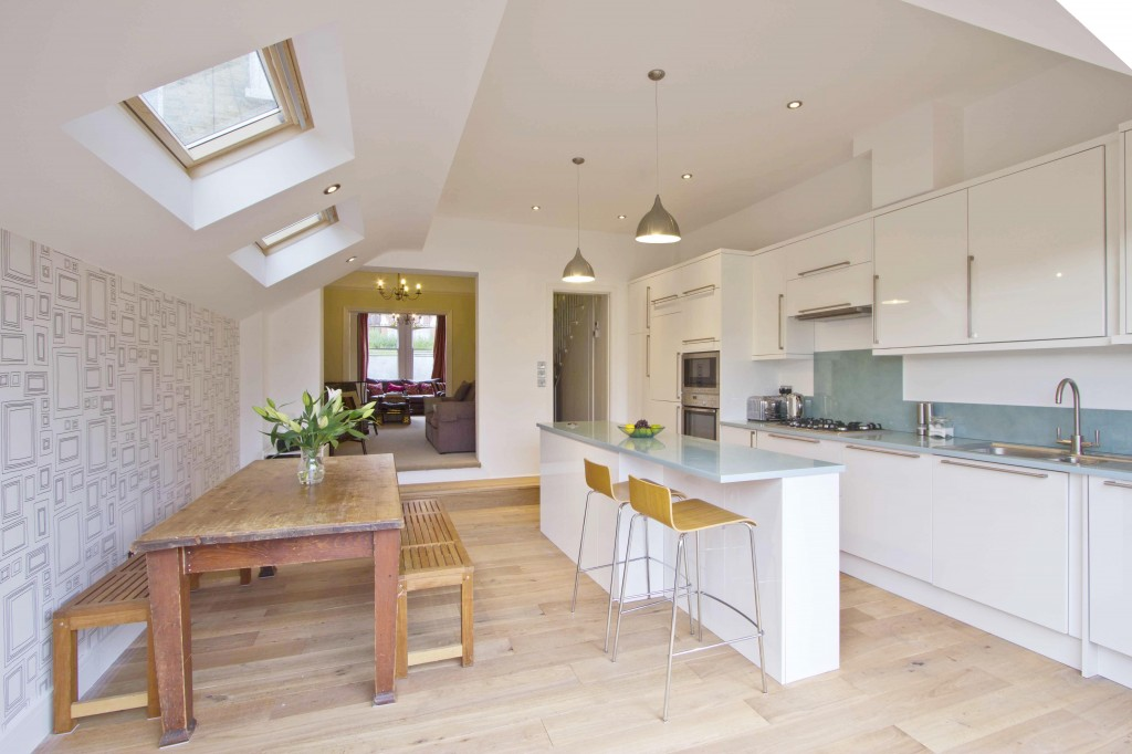 Homecroft road for Open plan kitchen diner living room