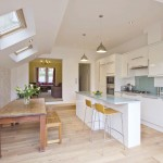 Light & Airy Open Plan Kitchen/Dining Room