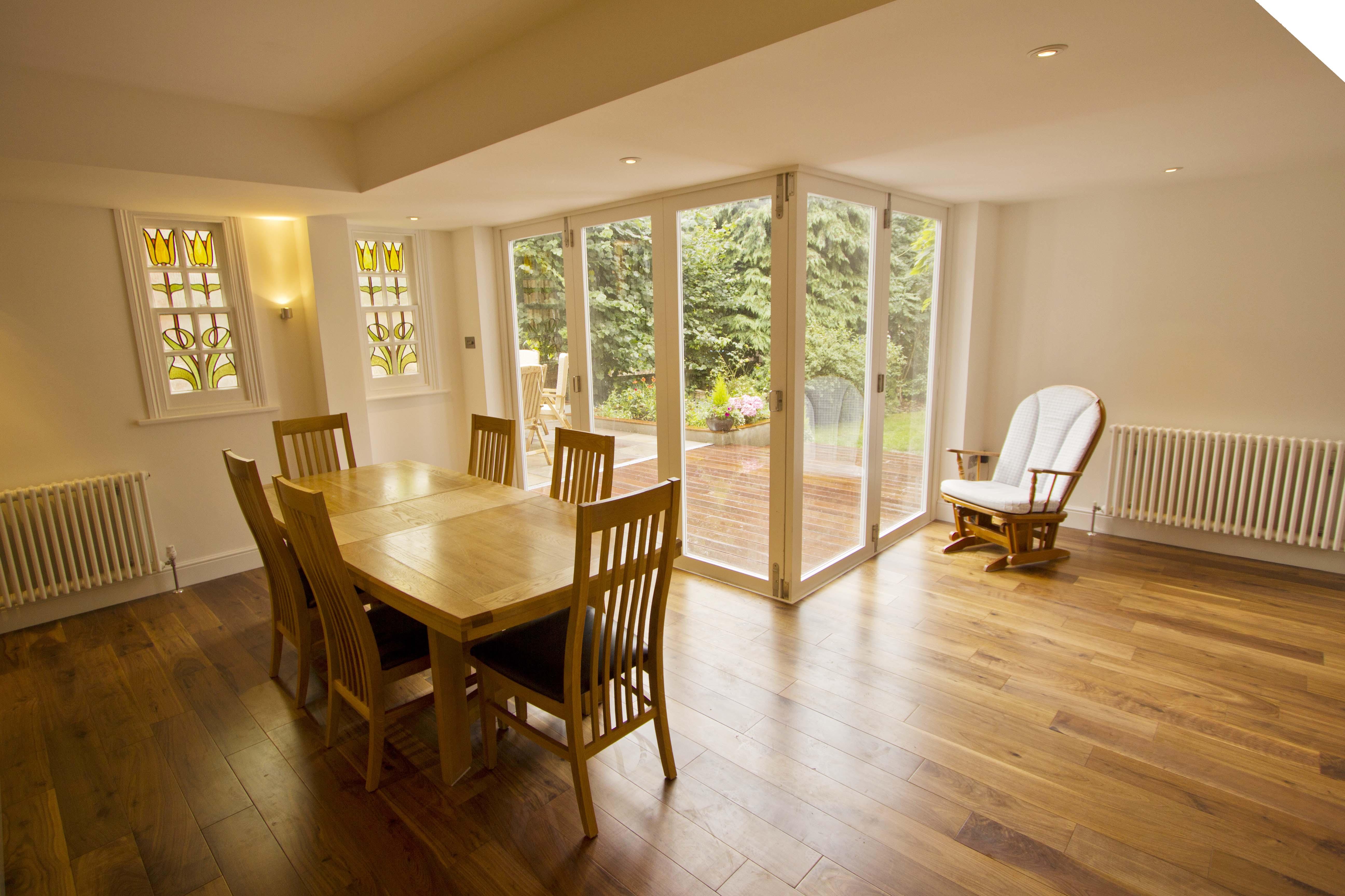Honor oak park for Kitchen dining room flooring ideas