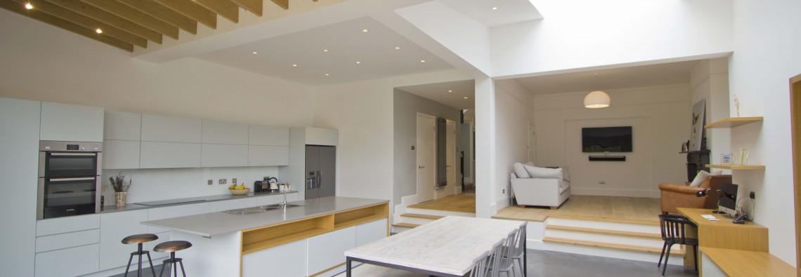 Kitchen/dining room interior
