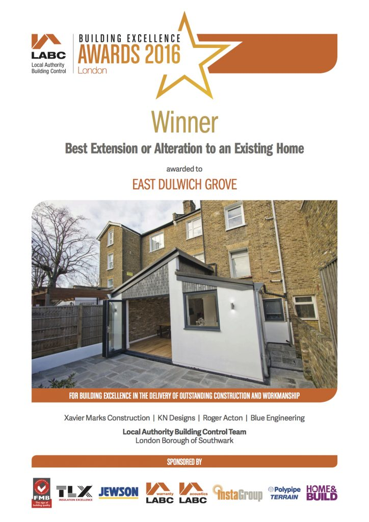:ABC 2016 Award - Best Extension or Alteration